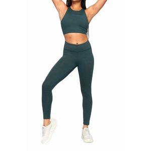 NWT OUTDOOR VOICES Move Free Crop Top Evergreen XS